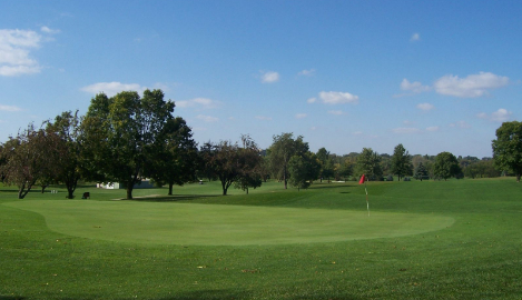 green at American Legion Memorial Golf Course